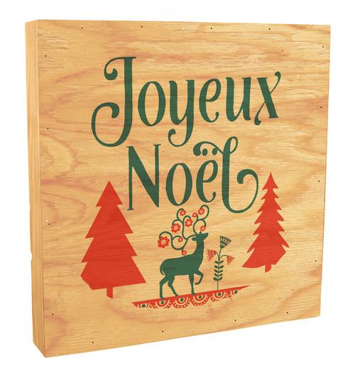 Joyeux Noël Rustic Box Art
