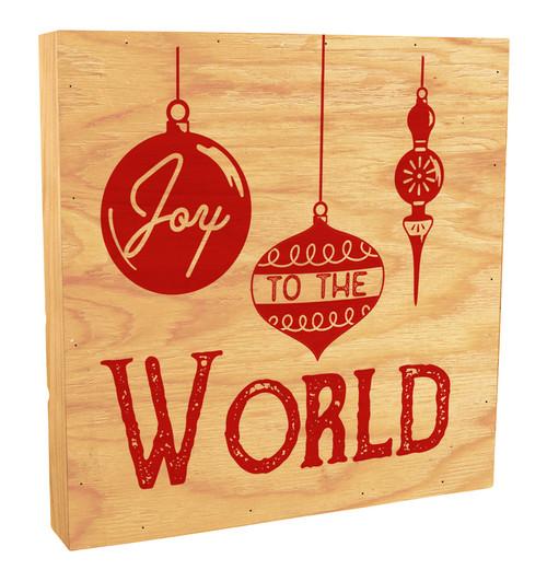 Joy To The World Rustic Box Art