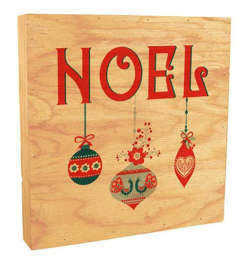 Noel Rustic Box Art