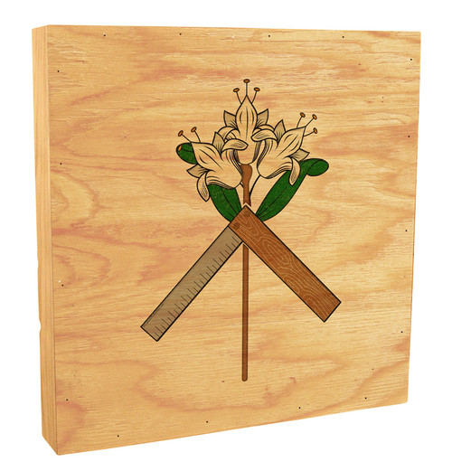 St. Joseph Symbol Rustic Box Art