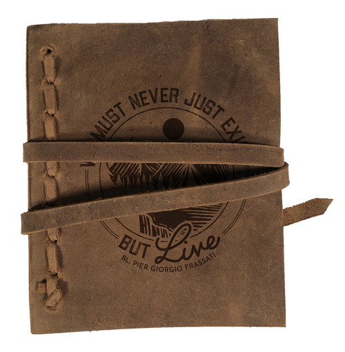 """Live"" Rustic Leather Journal"