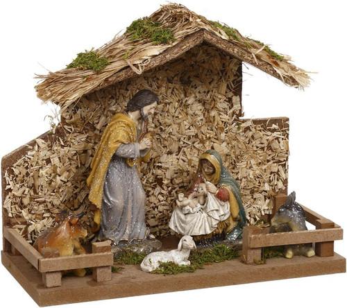 Away In A Manger Nativity