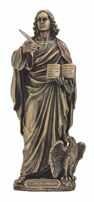 St. John The Evangelist Bronze Statue