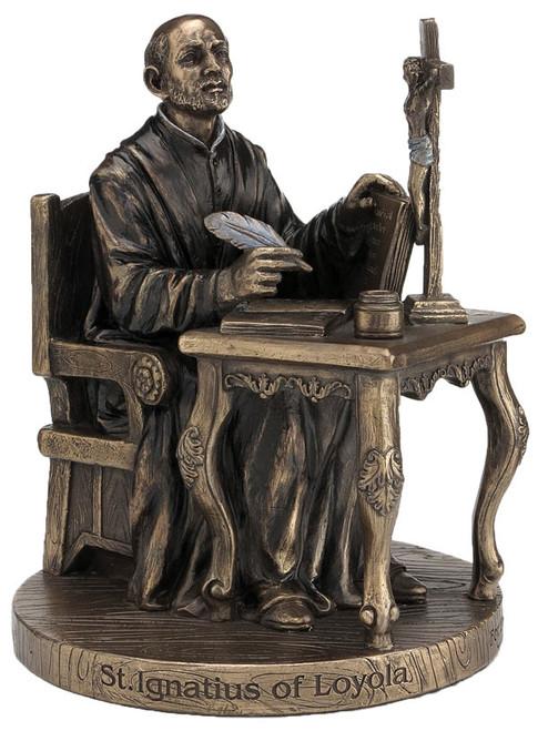 St. Ignatius of Loyola Bronze Statue