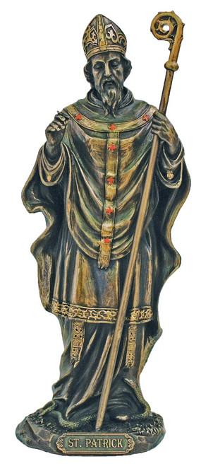 St. Patrick Bronze Statue