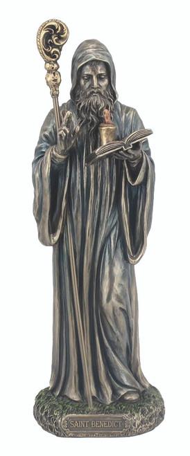 St. Benedict Bronze Statue
