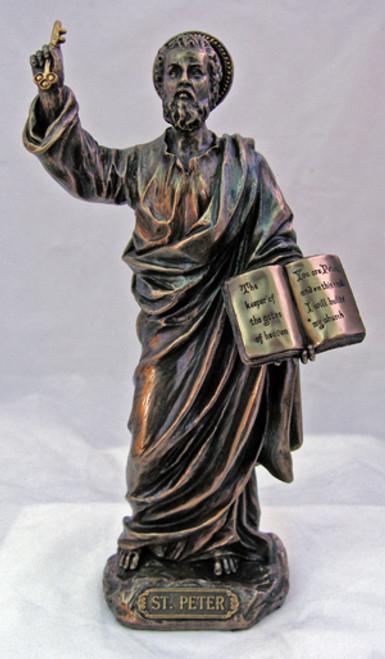 St. Peter Bronze Statue