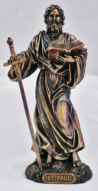 St. Paul Bronze Statue