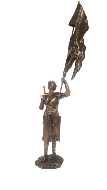 St. Joan of Arc Bronze Statue