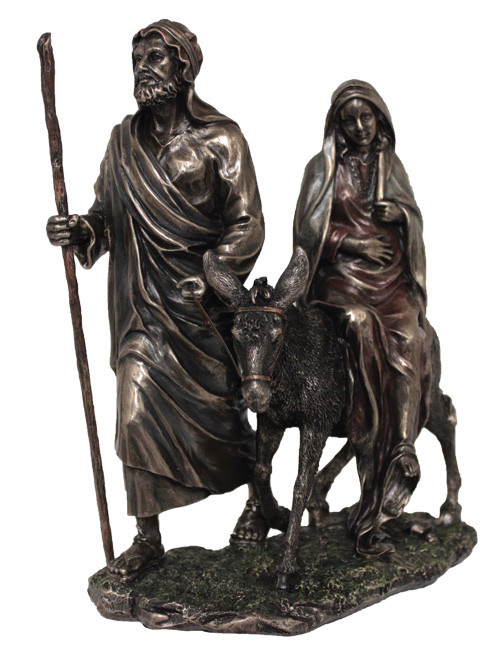 Journey To Bethlehem Bronze Statue