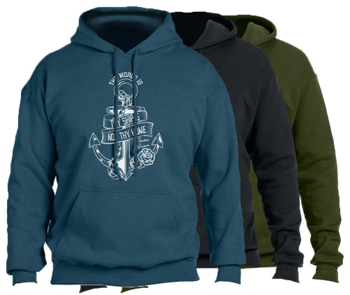 """The World Is Thy Ship"" Hoodie"