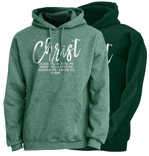 """""""Christ Beside Me"""" Hoodie"""
