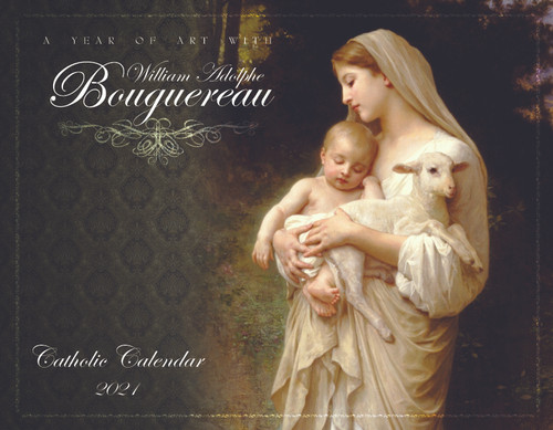 Catholic Liturgical Calendar 2021: William Bouguereau