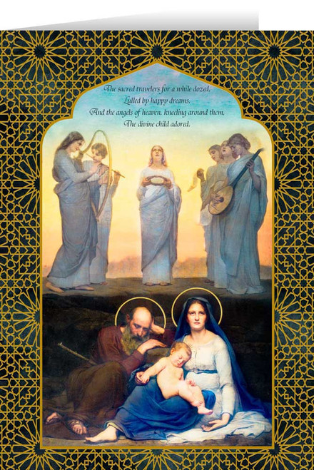 The Dream of the Baby Jesus by Jules Joseph Meynier Christmas Cards  (25 Cards)