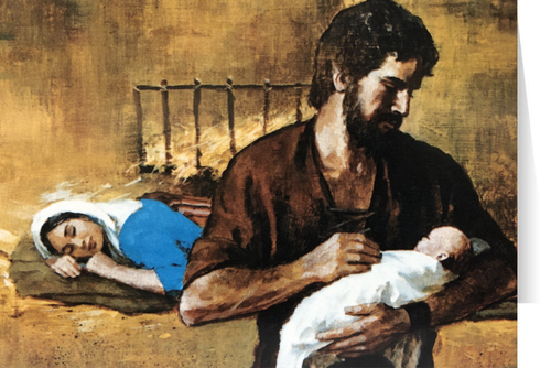 St. Joseph Fatherhood Christmas Cards  (25 Cards)