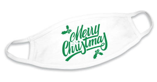 Merry Christmas Cotton Face Mask