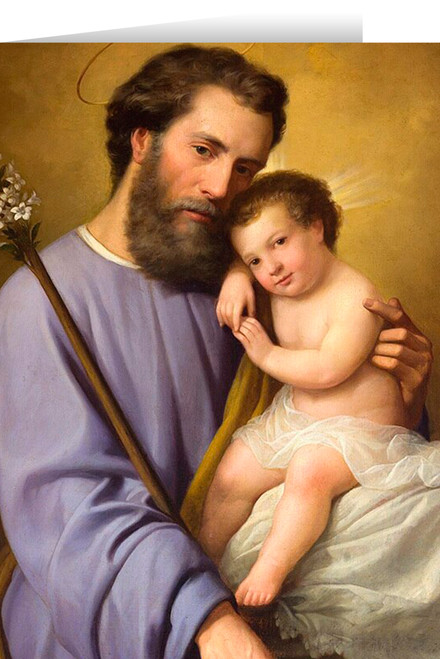 Commemorative St. Joseph Greeting Card