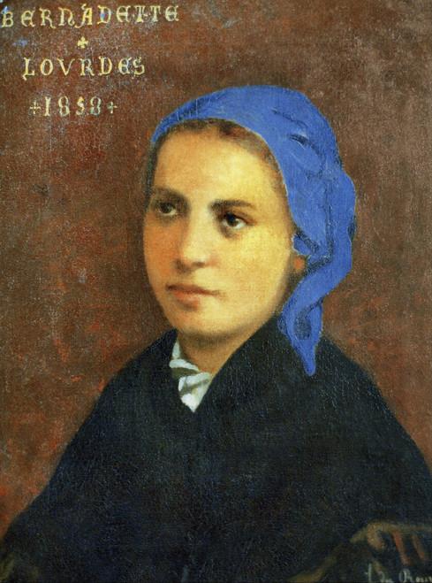 LIMITED EDITION St. Bernadette in Assorted Frames