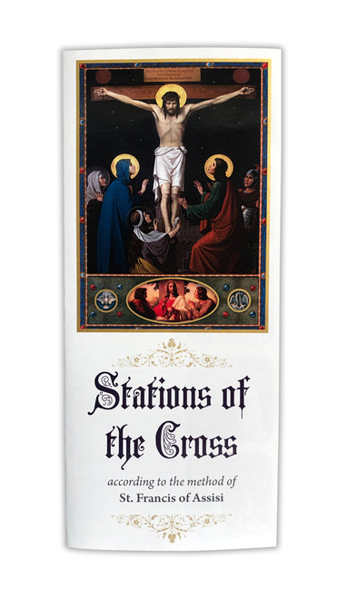 Stations of the Cross Tri-Fold Guide (Pack of 50)