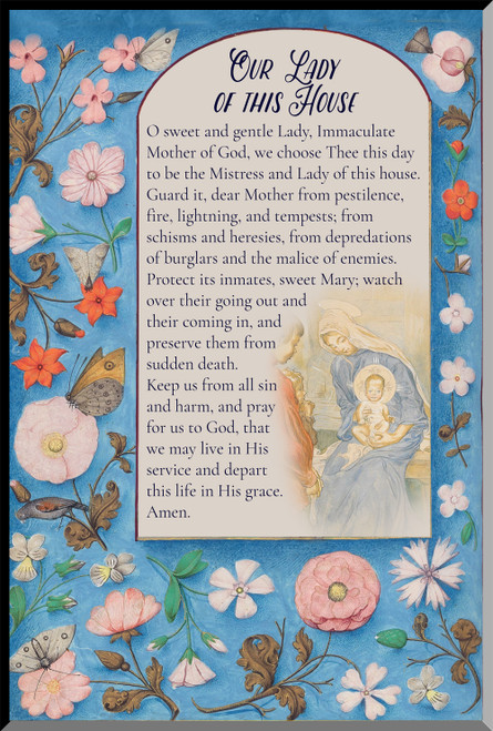Our Lady of this House Graphic WP