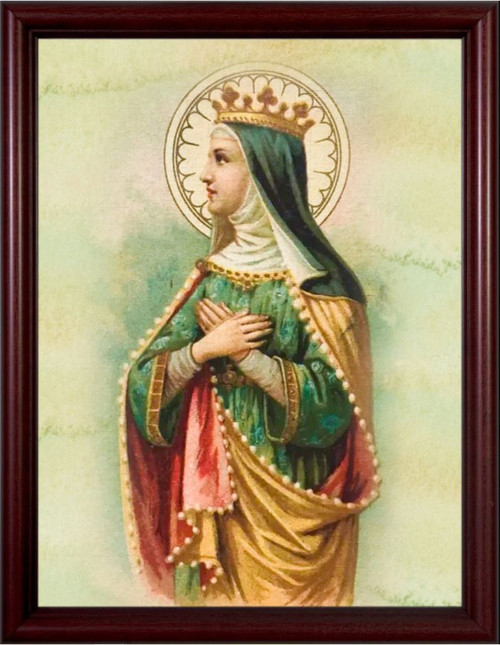 St. Matilda - Cherry Framed Art