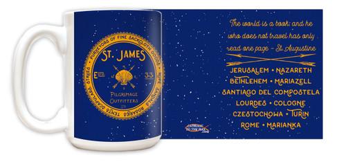 St. James Pilgrimage Outfitters Mug