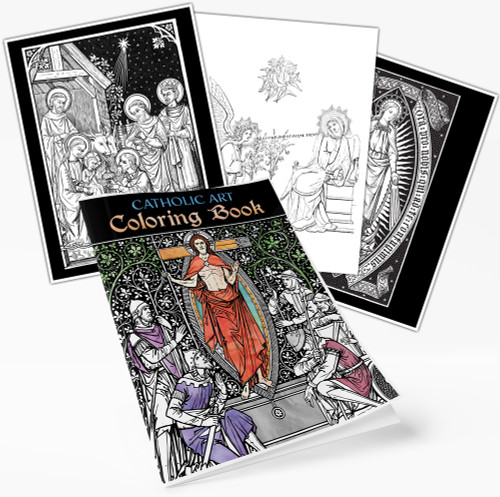 Catholic Coloring Book