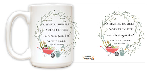 """Worker in the Vineyard"" Mug"