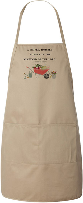 """Worker in the Vineyard"" Apron (Natural)"