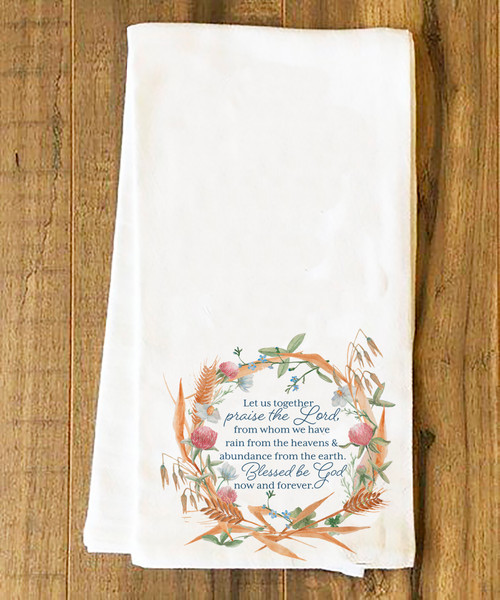 """Praise the Lord"" Tea Towel"