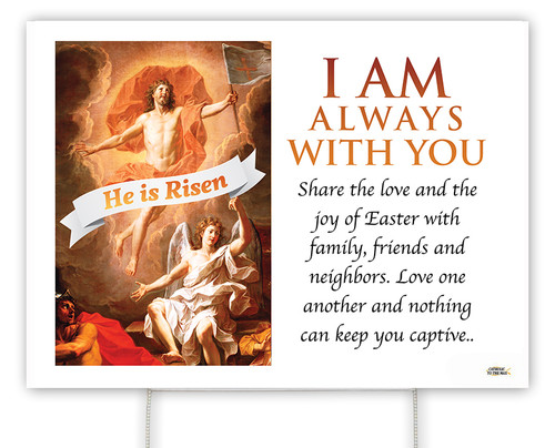 Resurrection of Christ E.C. Yard Sign