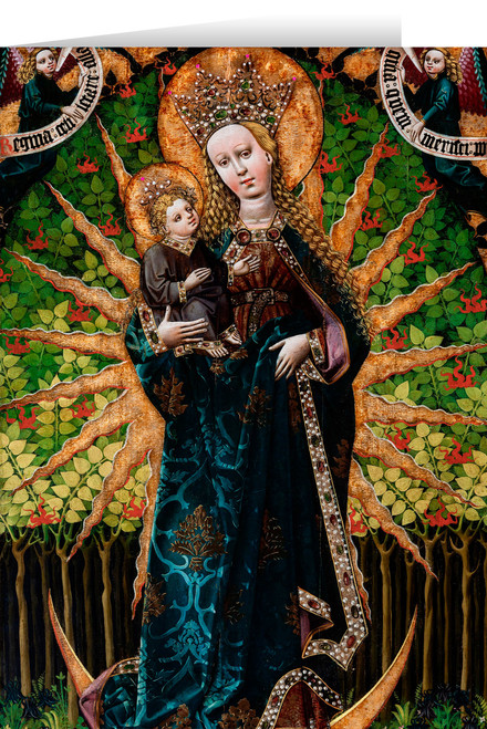 Matka Boska Zielna (Our Lady of the Herbs) Quote Card