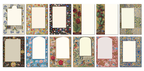 Assorted Gift Note Cards (Set of 12)