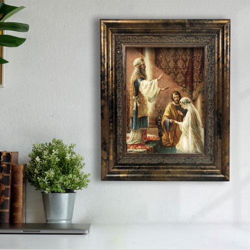 Wedding of Joseph and Mary in Assorted Frames (OUTLET SALE)