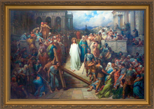 Christ Leaving the Praetorium by Gustave Doré Framed Art