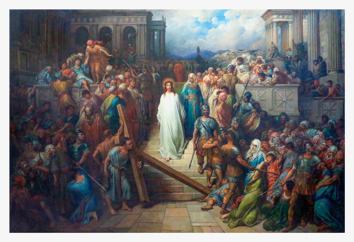 Christ Leaving the Praetorium by Gustave Doré Print