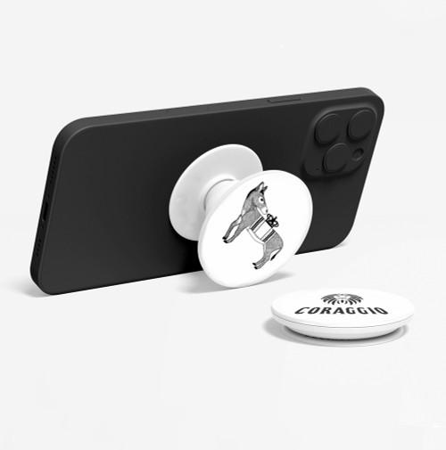 CORAGGIO Donkey Pop-Up Phone Holder
