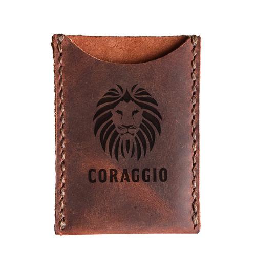CORAGGIO Original Leather Card Holder