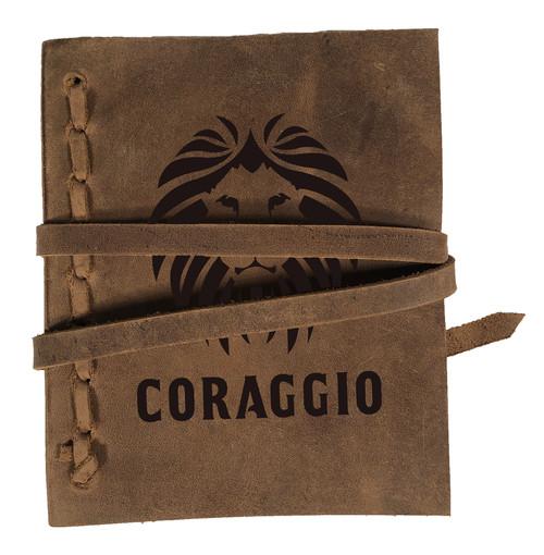 CORAGGIO Original Rustic Leather Journal