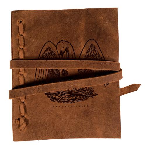CORAGGIO Pelican Rustic Leather Journal