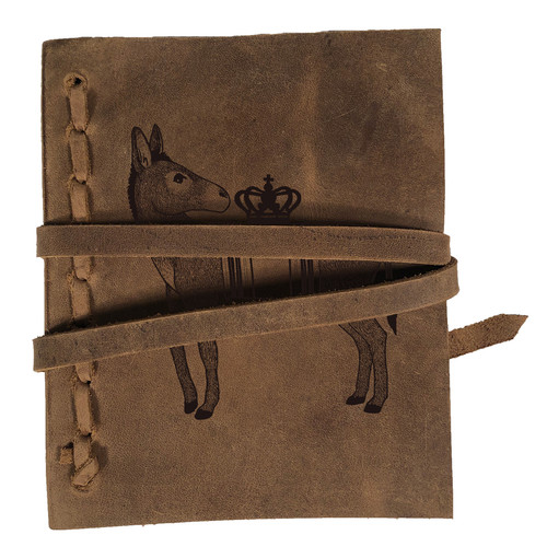 CORAGGIO Donkey Rustic Leather Journal