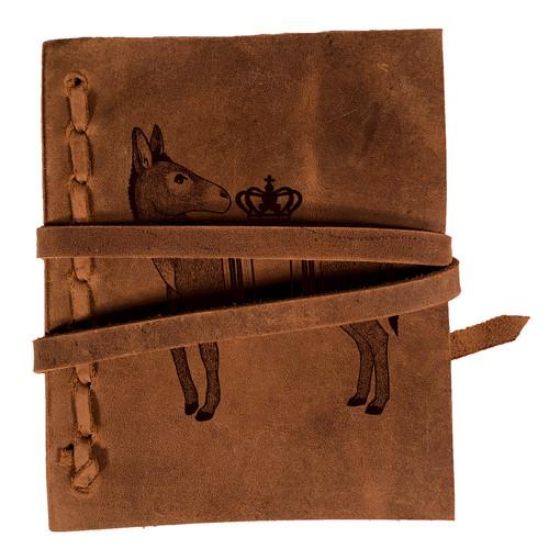 CORAGGIO Donkey Rustic Leather Journal