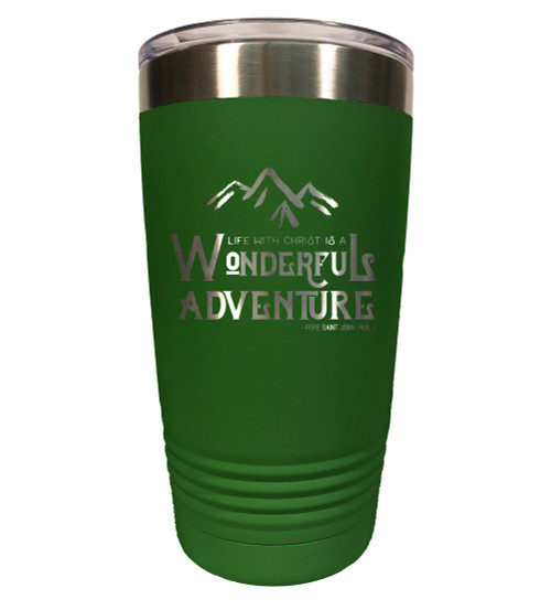 """Wonderful Adventure"" 20oz Tumbler"