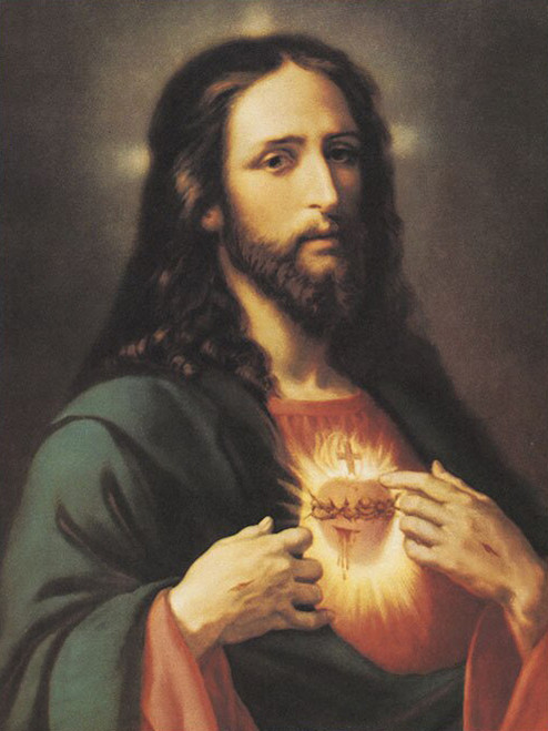 LIMITED EDITION Sacred Heart of Jesus in Assorted Frames