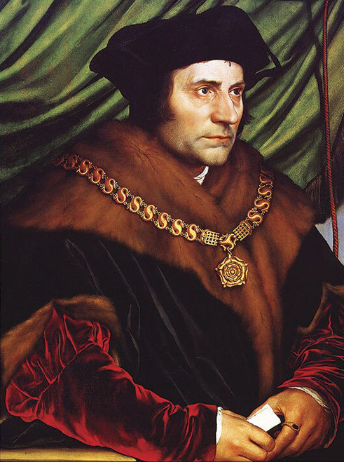 LIMITED EDITION St. Thomas More in Assorted Frames