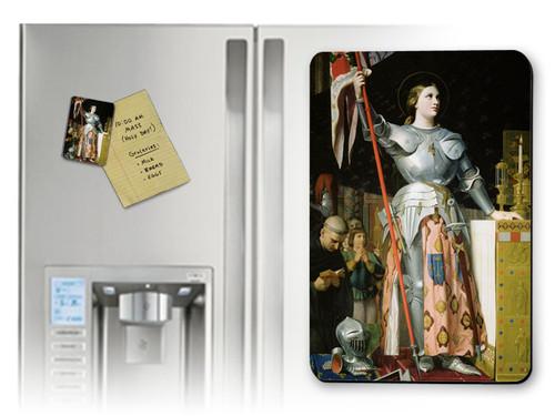 St. Joan of Arc Magnet