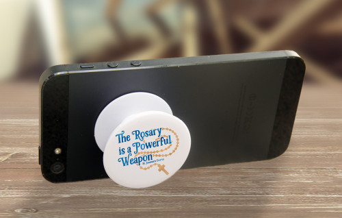"""""""Powerful Weapon"""" Pop-Up Phone Holder"""