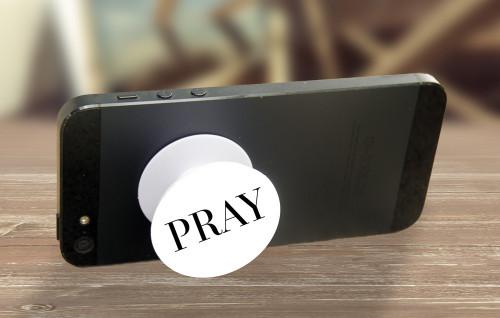 PRAY Pop-Up Phone Holder