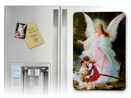 Angel on the Perilous Bridge Magnet