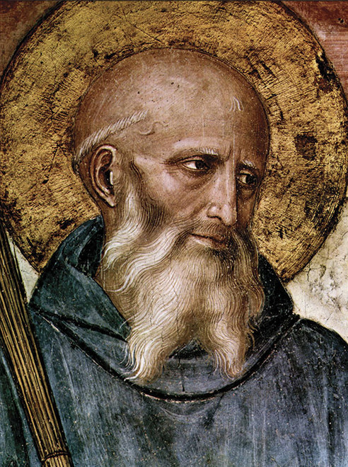 LIMITED EDITION St. Benedict in Assorted Frames